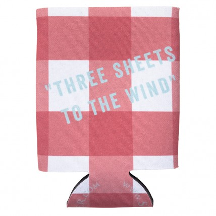 Three Sheets to the Wind Coozie